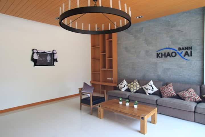 Private 1 BR condo, Near national park Khao Yai.