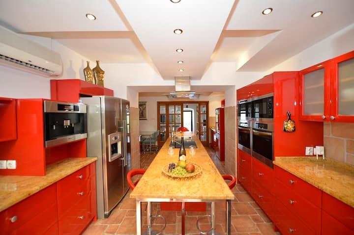 4* Waterfront Villa, Garden Suite, Kotor Bay Views