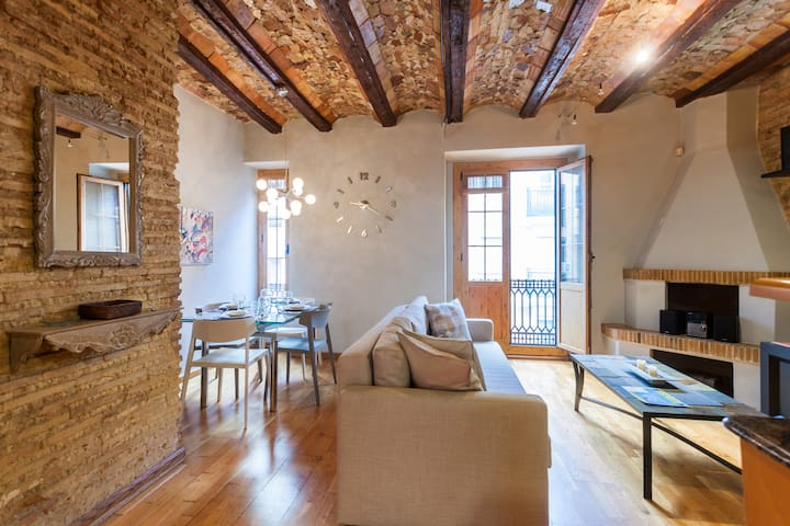 Cosy apartment in Central! Valencian style - WIFI - València - Altro