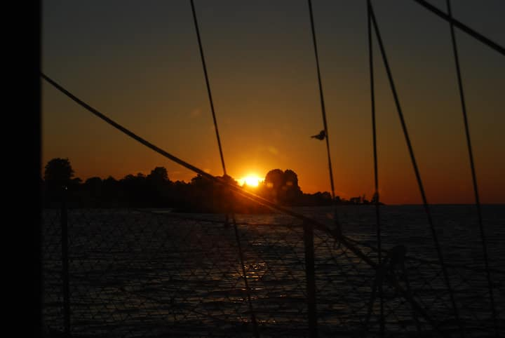 Segelyacht in der Flensburger Förde