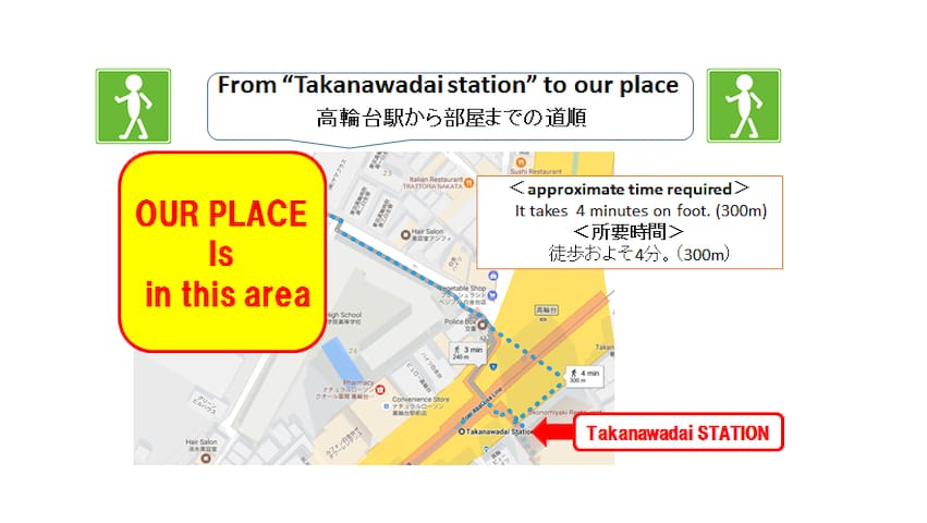 5mins walk to the station Max 11 pax - Minato