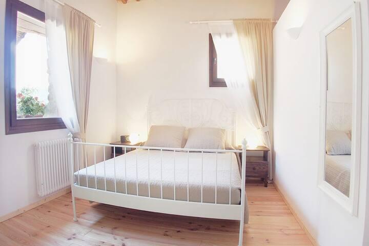 Camera matrimoniale nella  Suite Giulia