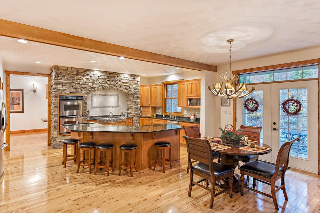 Large Central Kitchen Area