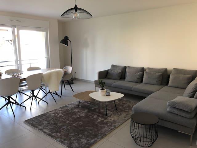 Chambre dans bel appartement à Lipsheim