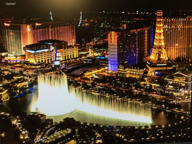 Vdara Studio 52nd FL Bellagio Ftns NO RESORT FEES