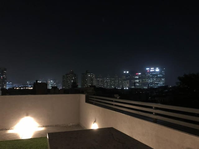 Private Terrace with Cyber City View
