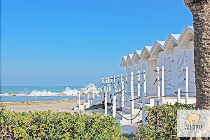 Sea view - Just 10mt from the beach - ALFONSO APT4 - Martinsicuro - Leilighet