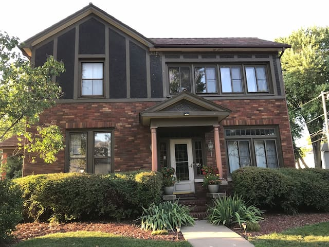 Unique Tudor Home w/i Walking Distance of Downtown