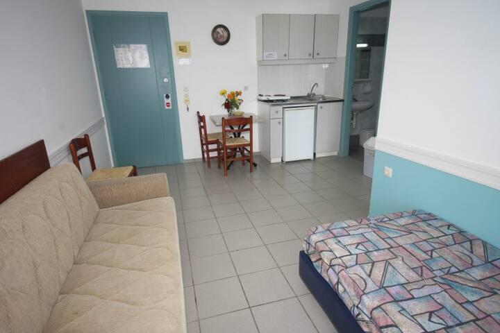 SEAFRONT HOTEL APT - Adelianos Kampos - Apartment