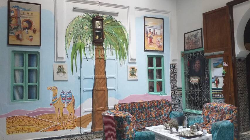 Inoubliable Hôtel Africa, au centre de la Medina