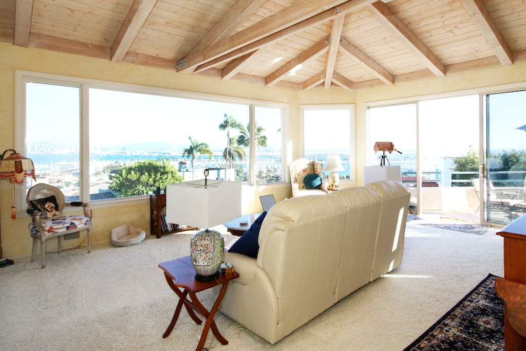 Ocean harbour view point loma houses for rent in san Living room of point loma san diego ca