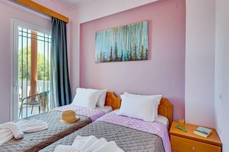 Eden apt 3 sea view - Chania - Apartment