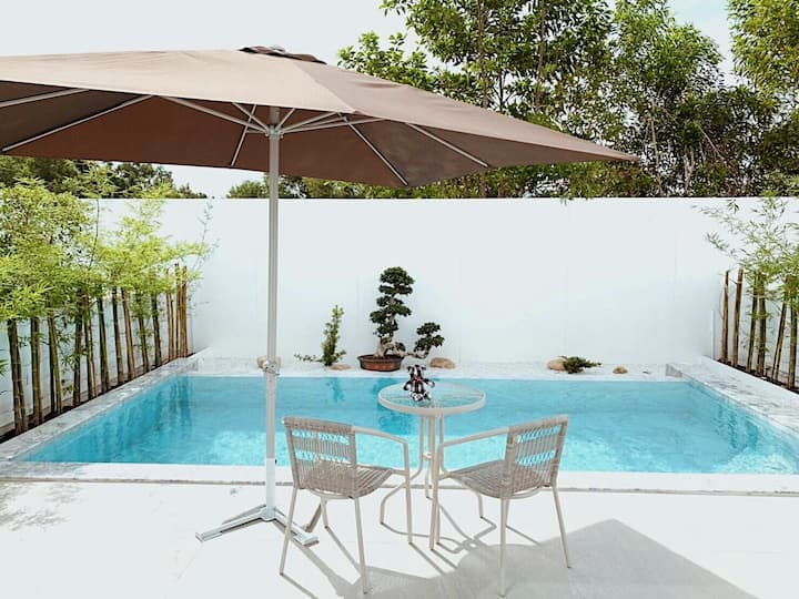 Vana House Pool Villa Phuket Minimal Style