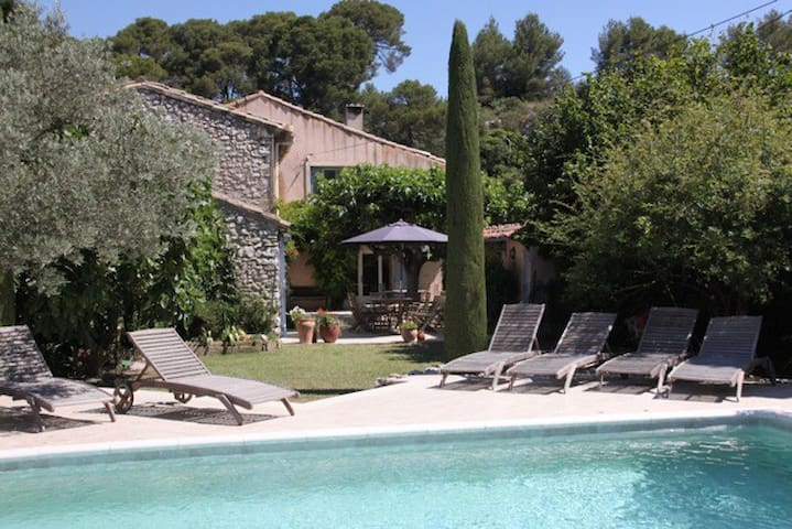 Old Stone Provençal family country house - Merindol - Haus