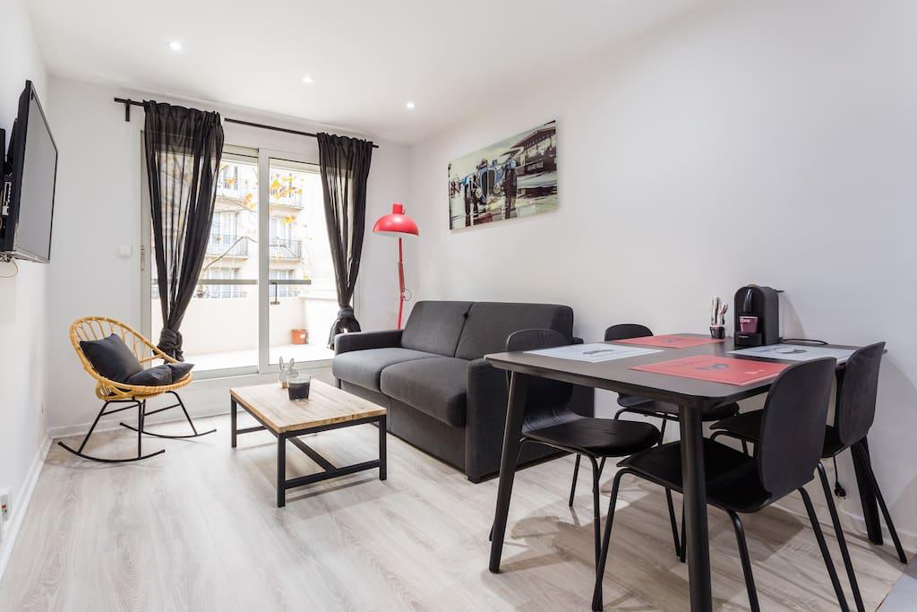 Magnifique appartement 1br 4p boulogne appartements - Location studio meuble boulogne billancourt ...