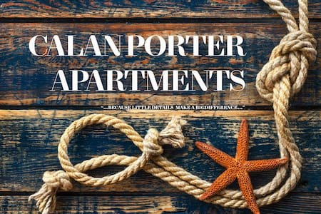 Small Boutique Apartment to Never Forget - Cala en Porter - Byt