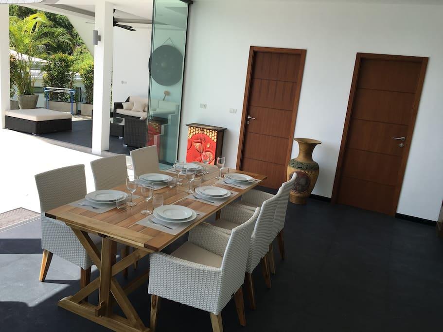 la salle à manger et le sala Thaï