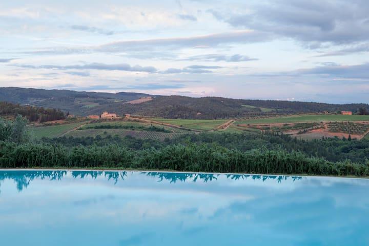 Amazing flat in the heart of Chianti Classico - Monsanto I - Daire