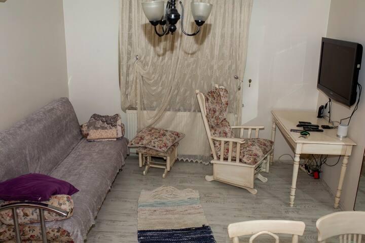 Komple Kiralık 1 Oda 1 Salon Ev