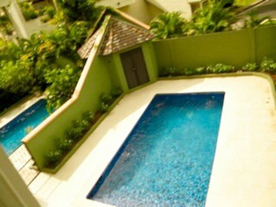 Unit comes with an exclusive beautiful private pool