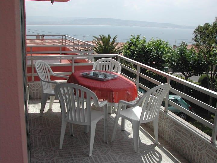 Apartamento por quincena S.Vicente do Mar(O Grove)