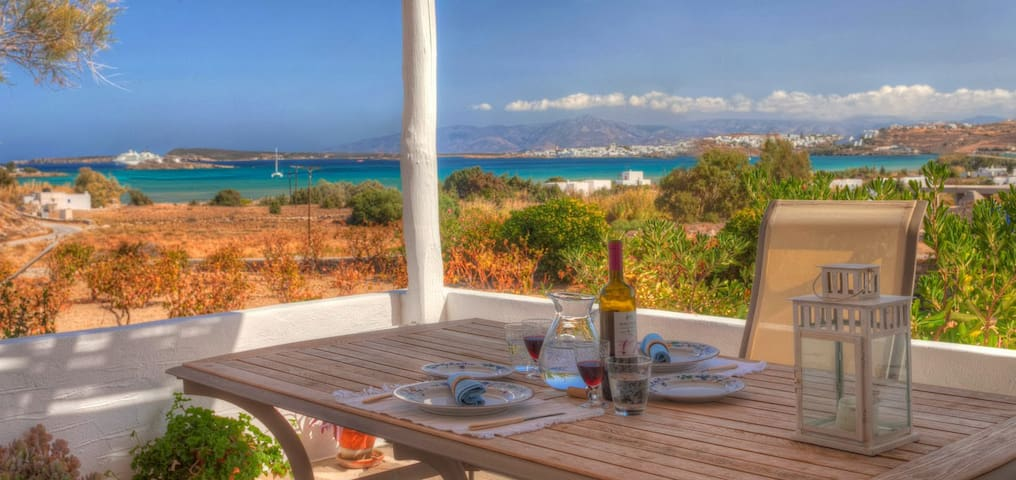 White Rocks Villa in Paros, with stunning view! - Paros - Villa