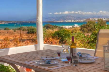 White Rocks Villa in Paros, with stunning view! - ปารอส - วิลล่า