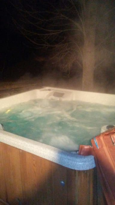 6 person hot tub walking distance from lake Barkley