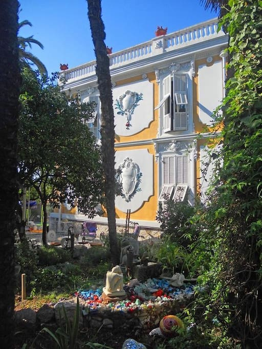Chambre dans Villa Belle Epoque du Port de Nice