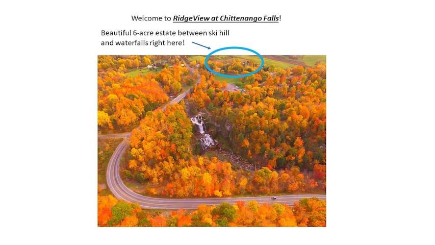 Chittenango Falls Gypsy Camper at RidgeView!