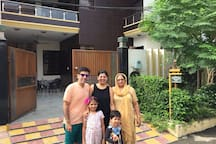 Siddharth from Singapore -His second stay with us !! Always a pleasure hosting you .