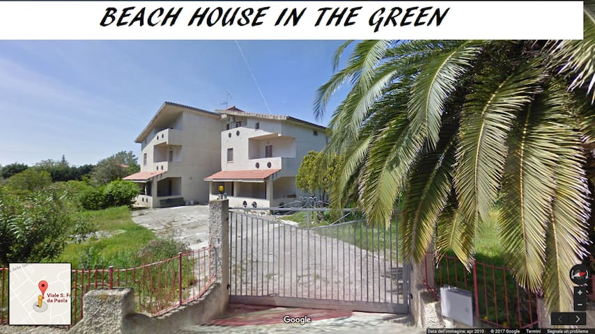 Beach House in the Green