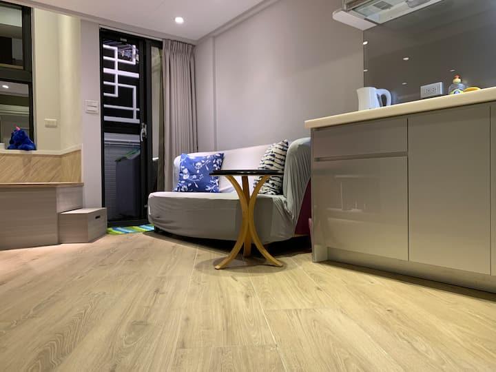 101side cozy&Loft apt#1(2-4)月租