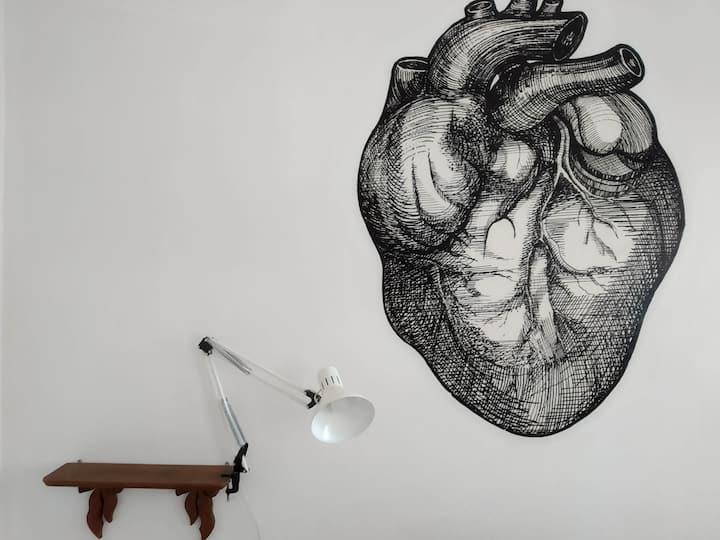 Acogedor y espacioso depto en el corazón de CDMX