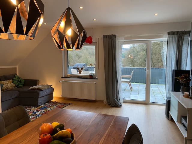 Cozy apartment next to the river