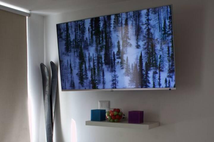 Refugio, vista y salida directa Canchas de Ski.
