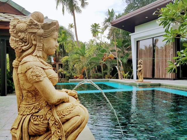 Samui. 2BD villa 550 meters from the  beach