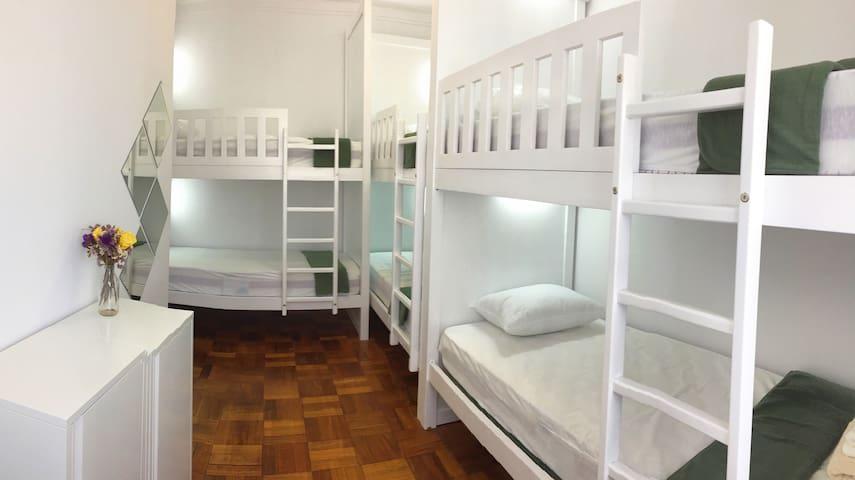 Quarto hostel masculino 2