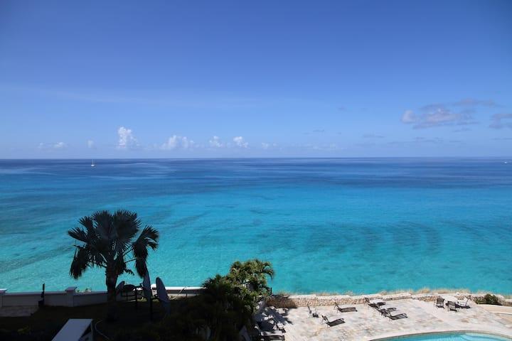 Океанский берег,утёс,потрясающий вид, частный пляж