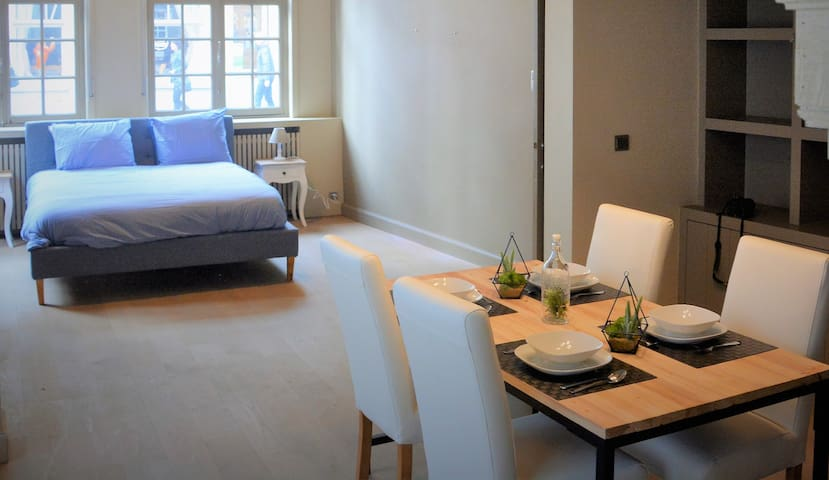 Luxurious apartment on top location - Brugge - Daire