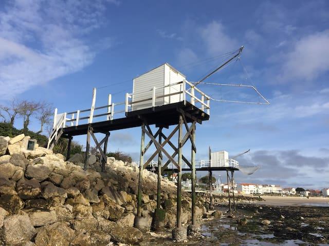 Maison de ville à 2 pas de la plage