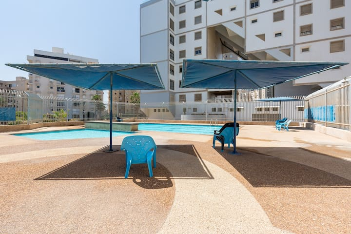 Lovely Kosher Sea view Appartment - Netanya - Apartemen
