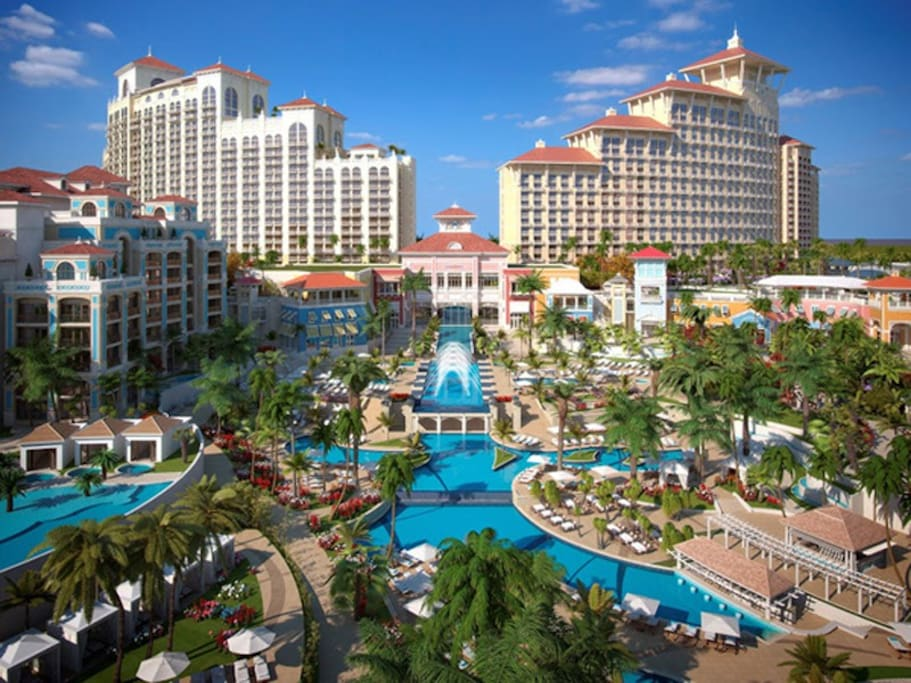 Bahamar Resort Golf and Casino five minutes from apartment
