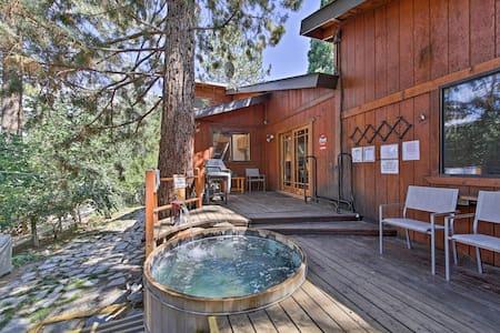 Wrightwood House w/ Fire Pit - Hike & Ski Nearby!