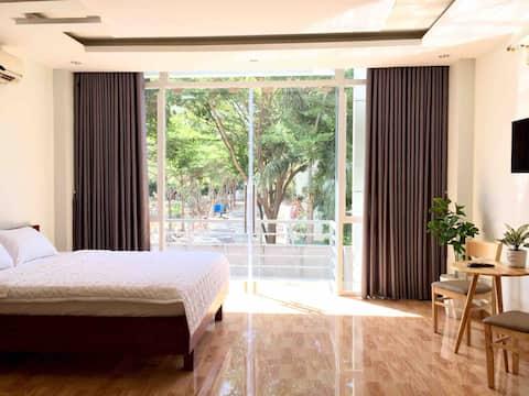 🌟Private Room -Balcony🌟 Near mountain & Back Beach