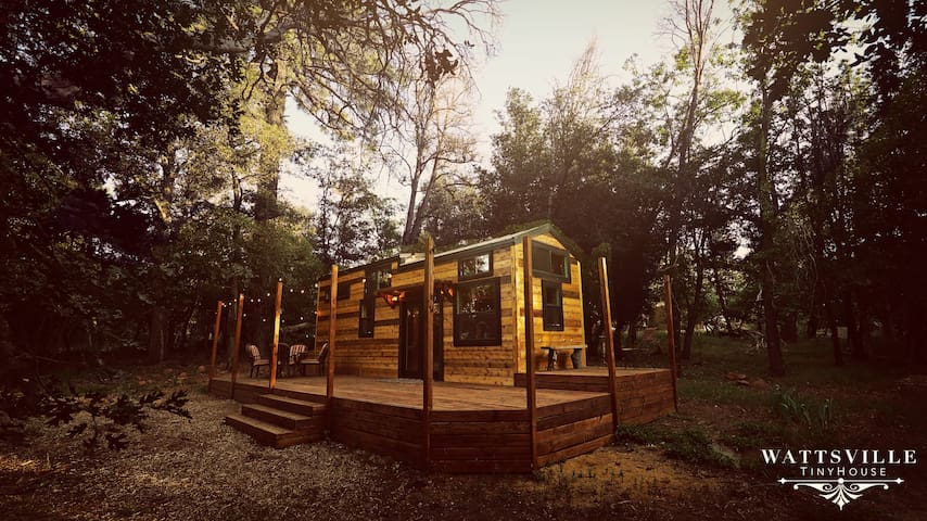 Glamping: Wattsville Tiny Home Sustainable Living