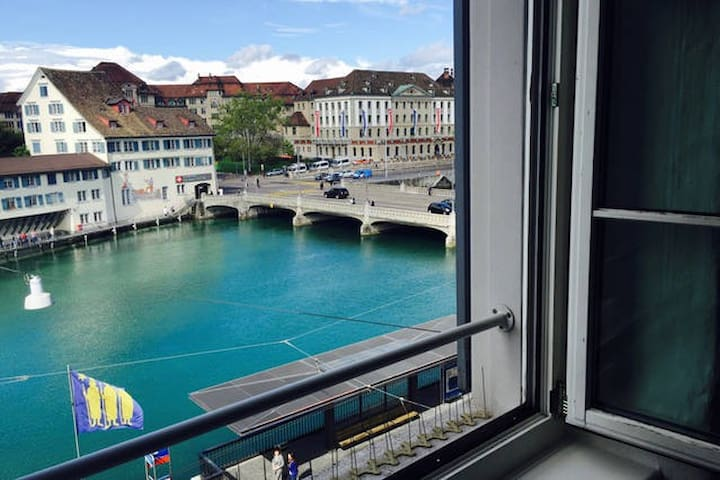 Living in the heart of Zurich!