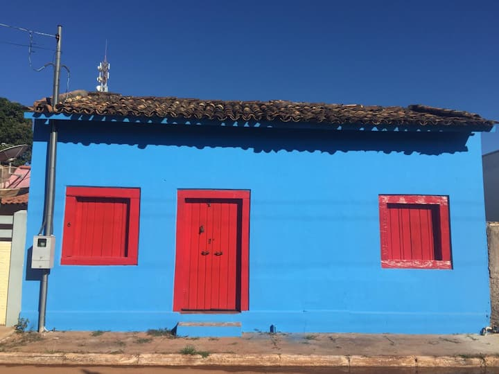 A Casa Azul - Quarto de casal externo
