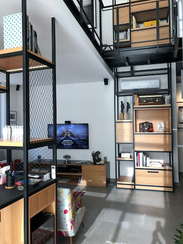Charming loft in Achrafieh, Centrally located