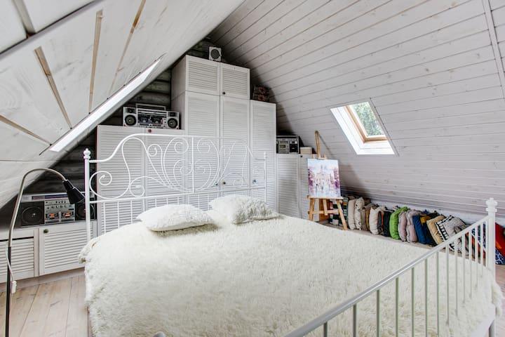 Beautiful home with sauna in Domodedovo